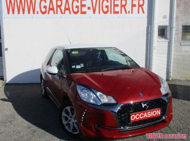 CITROEN DS3 B-HDI 100 CV SO-CHIC S&S